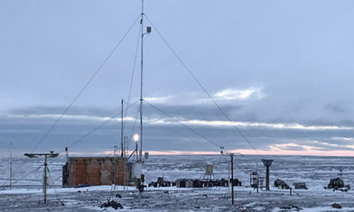 Ice Base Cape Baranova
