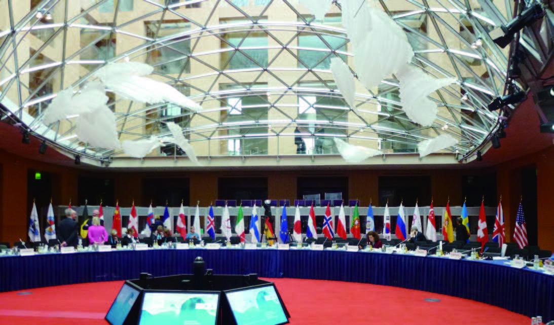 国際会議の様子