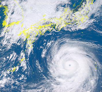 北極域の気象観測で台風の進路予...