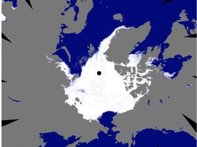 2020年11月16日 海氷分布図